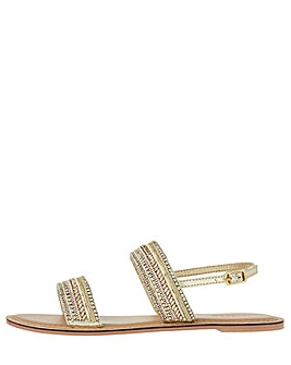 Monsoon Rina Embroidered Sandal