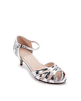 Paradox London Heath E Wide Fit Sandals