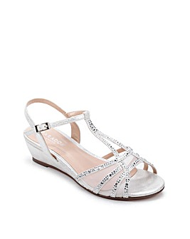 Paradox London Jilly EEE Wide Fit Sandal