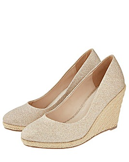 Monsoon Ella Espadrille Wedge Shoe