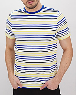Three Colour Breton Stripe T-Shirt Long