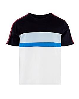 Cut & Sew Taping T-Shirt Long
