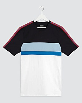 Cut & Sew Taping T-Shirt Long