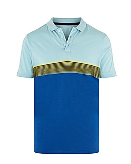 Chest Stripe Polo Long