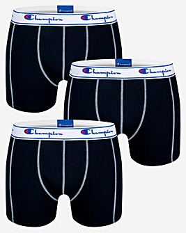 Champion Legacy Plain 3 Pack Boxer