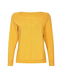 Yumi Curves Bright Relaxed Jumper