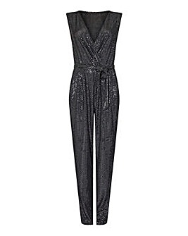 Yumi Curves Sequin Party Jumpsuit