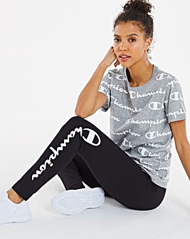 Champion Side Logo 7/8 Legging