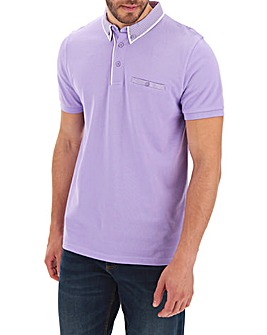 Trim Detail Lilac Polo Long