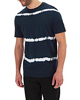 Navy Tie Dye T-shirt Long