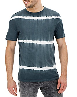 Grey Tie Dye T-shirt Long