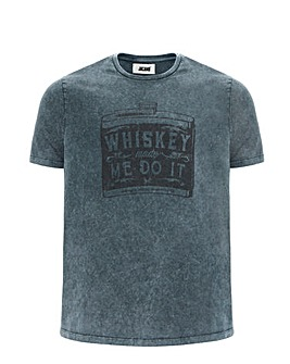 Whiskey Made Me Do It T-shirt Long