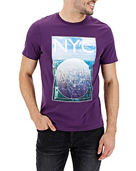 NYC Printed T-shirt Long