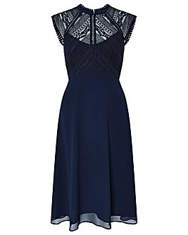 Monsoon Lolita Lace Midi Dress