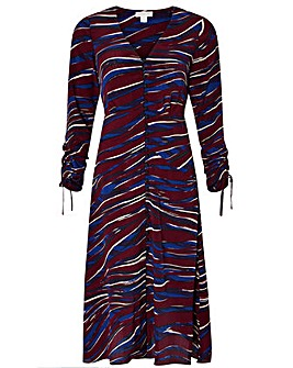 Monsoon Lexi Print Midi Dress