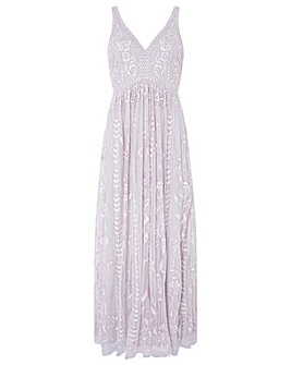 Monsoon Lavinia Embroidered Maxi Dress