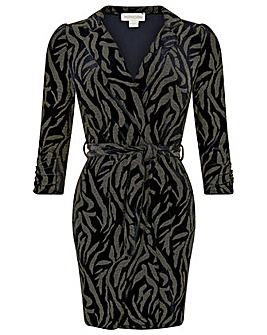Monsoon Nadia Velvet Blazer Dress