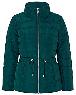 Monsoon Kristen Eyelet Padded Coat