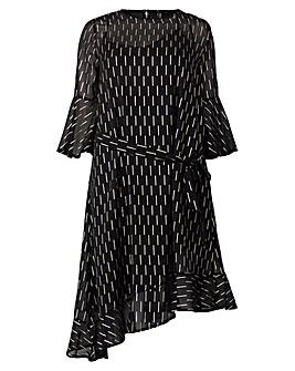Izabel London Curve Tie Waist Dress