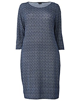 Izabel London Curve Printed Dress