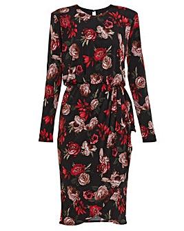 Gina Bacconi Faiza Jersey Floral Dress
