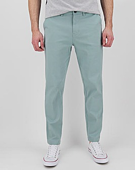 Tapered Fit Flat Front Chino 31""