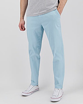 "New and Improved Tapered Fit Chino 31"" with Softer Stretch Fabric"