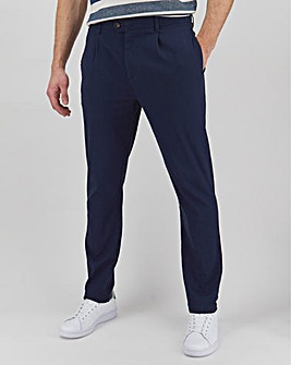 "New and Improved Pleat Front Chino 31"" with Softer Stretch Fabric"