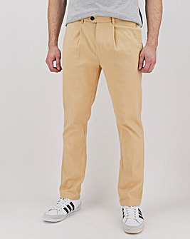 """Pleat Front Stretch Chino 31"""""""