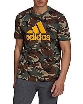 adidas All Over Camo T-Shirt