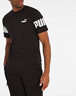 Puma Power Colourblock T-Shirt