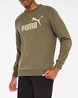 Puma Essentials Big Logo Crew Sweatshirt
