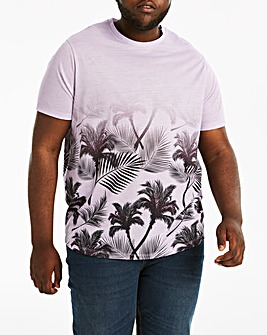 Faced Floral T-Shirt Long