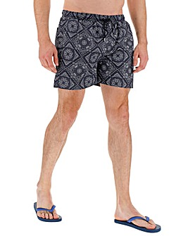 Bandana Print Swim Short