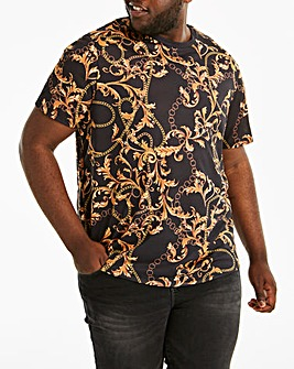 Baroque Style Printed T-Shirt