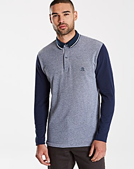 Jacamo Black Label Colour Block Polo L