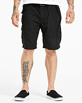 Black Axel Cargo Shorts