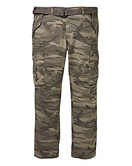 Camo Ambrose Cargo Pant 29in