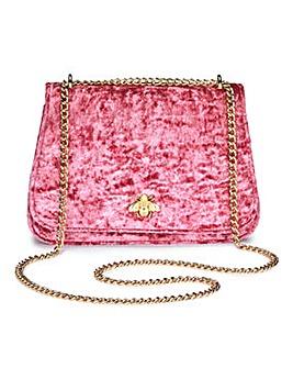 Velvet Shoulder Bag