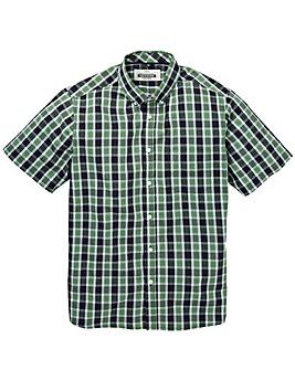 Jacamo Harper S/S Check Shirt Long