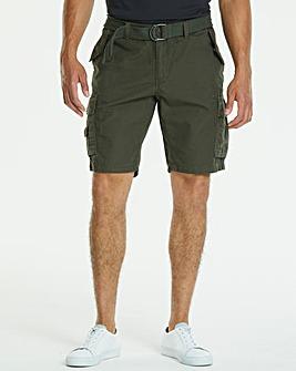 Khaki Axel Cargo Shorts