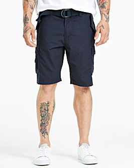Navy Axel Cargo Shorts