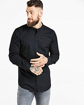 Capsule Stretch L/S Grandad Shirt L