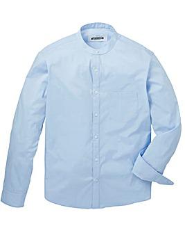 Capsule Stretch L/S Grandad Shirt L