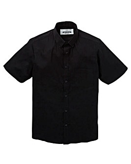 Black Stretch S/S Shirt R