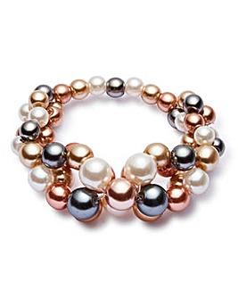 Joanna Hope Faux Pearl Bracelet