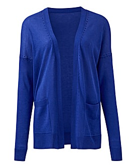 Cobalt Lightweight Edge to Edge Cardigan