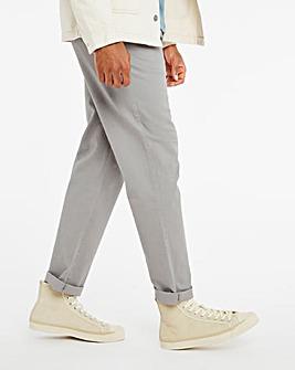 Light Grey Regular Straight Chino