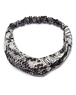 Snake Print Headband