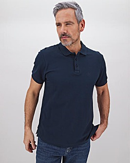 Embroidered Polo Long